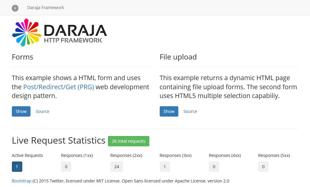 Home | Daraja Framework