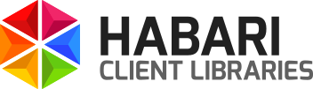 Habari Client libraries logo